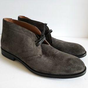 NEW Frye Scott Suede Chukka Boots